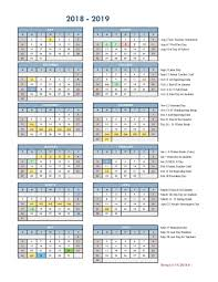 Year To Year Calendar District School Year Calendar Graduation Dates Parents Gallup