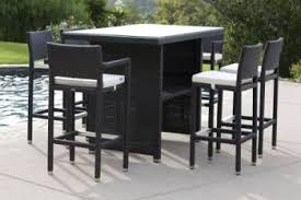 outdoor furniture bar sets. outdoor furniture sets - bar babmar vertigo set for 6