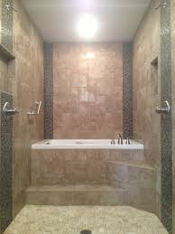 Master Bathroom Renovation Walk Through Dual Head Shower To A - Bathroom with jacuzzi and shower