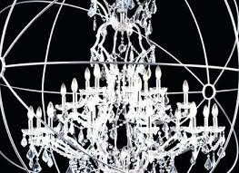 sphere shaped chandeliers medium size of chandelier with crystals