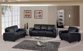 black leather sofa contemporary sofas beautifying living room pertaining to cream and inspirations 11