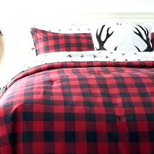 red plaid comforter twin bedding sets