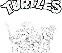 Printable Ninja Turtle Coloring Pages Ninja Turtle Coloring Pages To