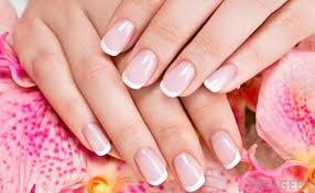 american manicures are often pared to the french manicure due to the similarities they share in color and style