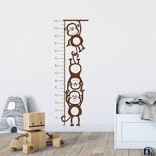 Wall Decal Height Chart Australia