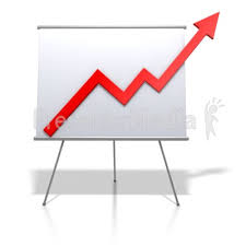 Clip Art Charts And Graphs Financial Graph Increase Great Powerpoint Clipart For