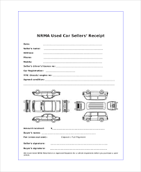 Auto Sales Reciept Sample Sales Receipt 7 Documents In Pdf Word