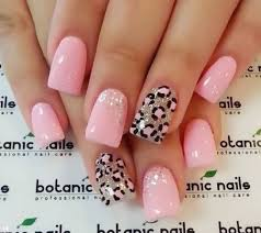 45+ Cute Pink Leopard Print Nail Art Designs