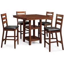 5 Piece Counter Height Dining Set Dining Table