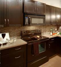 kitchen backsplash glass tile dark cabinets. Delighful Cabinets Kitchen Backsplash Ideas With Dark Cabinets Kitchen Backsplash Designs With Dark  Cabinets To Glass Tile L