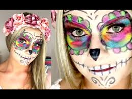 easy sugar skull makeup tutorial easy makeup tutorial you