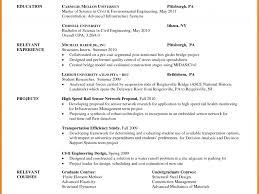 Objective For Graduate School Resume Nursing Sample Statement
