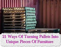 turning pallets into furniture. Turning Pallets Into Furniture