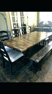 farmhouse dining set with bench farmhouse table set farmhouse dining set with bench and chairs black