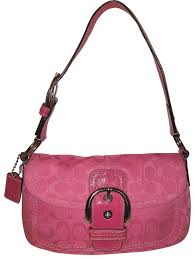 Coach Monogram Jacquard Medium Shoulder Bag ...