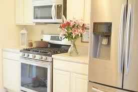 painted oak kitchen cabinets before and after. Oak Kitchen Cabinets Newly Painted White Before And After U