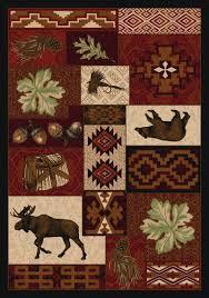 cabin decor rugs