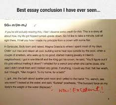 best essay conclusion i have ever seen pictures photos and  best essay conclusion i have ever seen