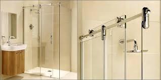 installing a frameless shower door sliding glass shower door installation repair dc throughout doors decorations installing
