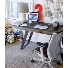 crate and barrel office furniture. Steelcase® Think™ Leather Office Chair In Chairs, Phoenix Work Table | Crate And Barrel Furniture T
