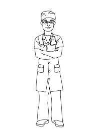 Male Nurse Drawing At Getdrawingscom Free For Personal Use Male