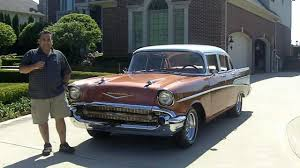 1957 Chevy Bel Air 4 Door Classic Muscle Car for Sale in MI ...