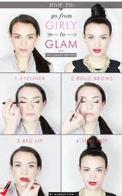 how to day to night glam makeupdiy