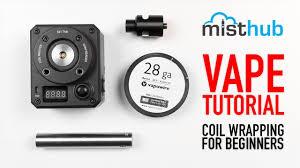 Tutorial 9 Vape Coil Building Steps Beginners 2017 Misthub