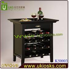 Wine Carts Cabinets Customized Corner Wooden Wine Cabinetwine Glass Display Cabinet