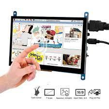 7 Inch HDMI Màn Hình Cảm Ứng TFT LCD Màn Hình Hiển Thị Màn Hình HD 1024X600  Cho Raspberry Pi 3 Model B + pi 4 Máy Tính Tivi Box Đầu Ghi