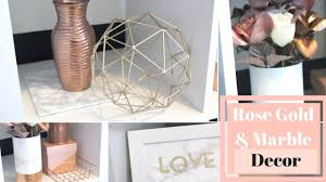 Diy office decor Wall Diy Rose Gold And Marble Room Decor Simple Easy Home Office Decor Youtube Diy Rose Gold And Marble Room Decor Simple Easy Home Office