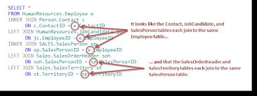 Join Sql Multiple Joins Work Just Like Single Joins In Sql Server