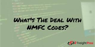 Nmfc Codes Chart Your Nmfc Code And How It Affects Your Ltl Freight Quote