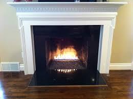 image of vented gas fireplace stylish