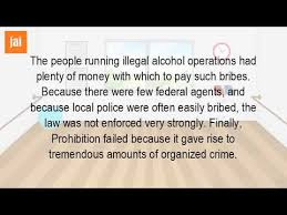 why the prohibition was a failure why the prohibition was a failure