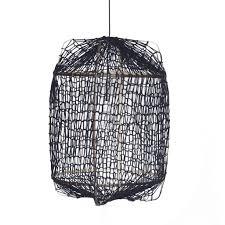Ay Illuminate Hanglamp Z1 Zwart Bamboe ø67x100cm Wonenmetlefnl