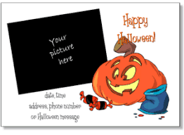 Each printable is available for free as a pdf file, and many are also available as customizable word doc files. Printable Halloween Party Invitation Templates Halloween Cards To Print For Free Personalized Halloween Invite Templates