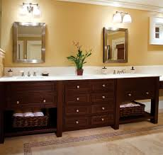 arts crafts bathroom vanity: cherry bathroom sink wall cabinets ideas bathroom flowering cabinet interior design wooden wall design bright
