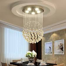 dining room clear crystal chandelier in dia 30cm