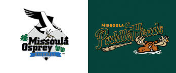 Missoula Graphic Design Brand New New Logo For Missoula Paddleheads By Brandiose