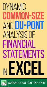 Financial Analysis Of Microsoft Dynamic Common Size And Dupont Analysis Financial Statements In
