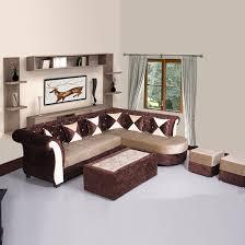 Brown sofa sets Wooden Bharat Lifestyle Dl Diamond Fabric Sectional Cream Brown Sofa Set Online Price In India Buybharat Flipkart Bharat Lifestyle Dl Diamond Fabric Sectional Cream Brown Sofa Set