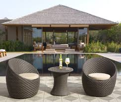 patio furniture for small spaces. Patio Furniture For Small Spaces - Sirio 3 Piece Wicker Bistro Set