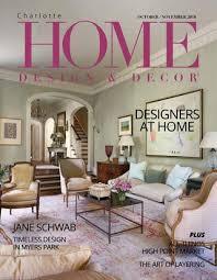 HDD Charlotte October/November 2018 by Home Design & Decor Magazine ...