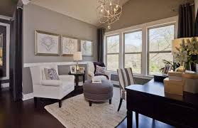 awesome home office chandelier traditional home office with hardwood floors high ceiling