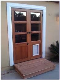 safe doggie door sliding patio with pet built in patios home doors glass petsafe dog wall installation replacement flap medium repla