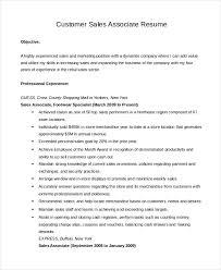 Sales Associate Resume Template 40 Free Word PDF Document Classy Sale Associate Resume