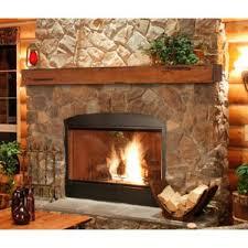 Oak Fireplace Mantels You'll Love | Wayfair