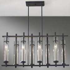 murray feiss ethan 8 light antique forged iron chandelier mf f2630 8af bs