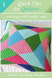 Quick Tips for Quilters- 1 - Geta's Quilting Studio & Fusible raw edge applique is a quick technique that makes working with tiny  pieces or odd shapes a breeze. Adamdwight.com